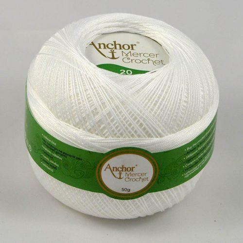 AA Mercer Crochet 20 7901 biela