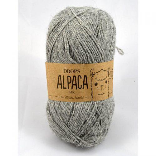Alpaca mix 501 sivá svetlá