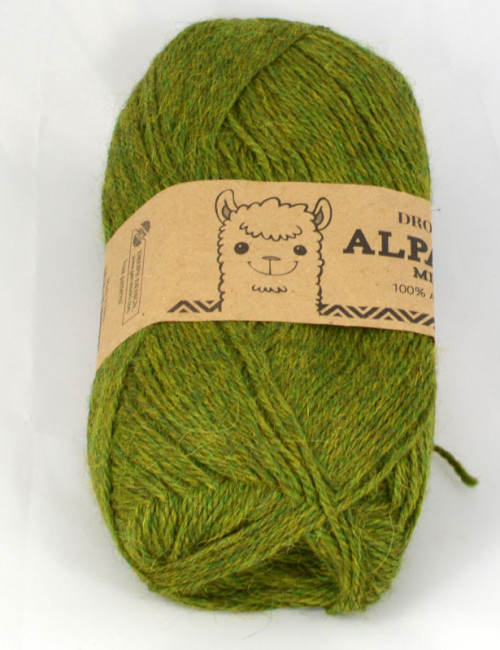 Alpaca mix 7238 olivová
