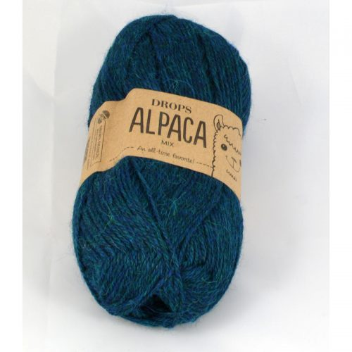 Alpaca mix 7240 petrolejová modrá