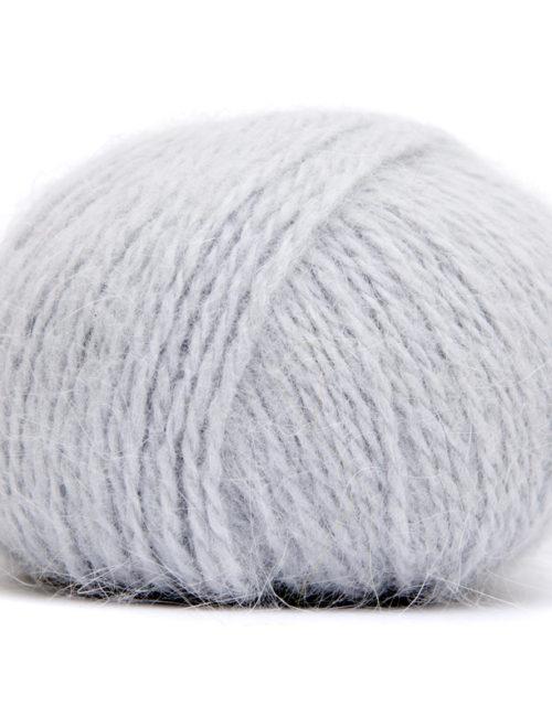 Angora Super perlová sivá 436