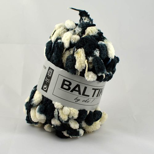 Baltik 125 biela/čierna