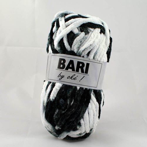 Bari 504 čiernobiely melír