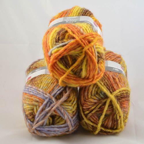 Baya 101 oranž/okrová/lila