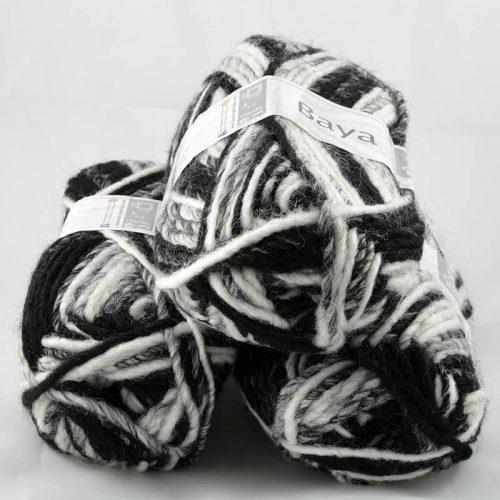 Baya 129 Biela/čierna/sivá