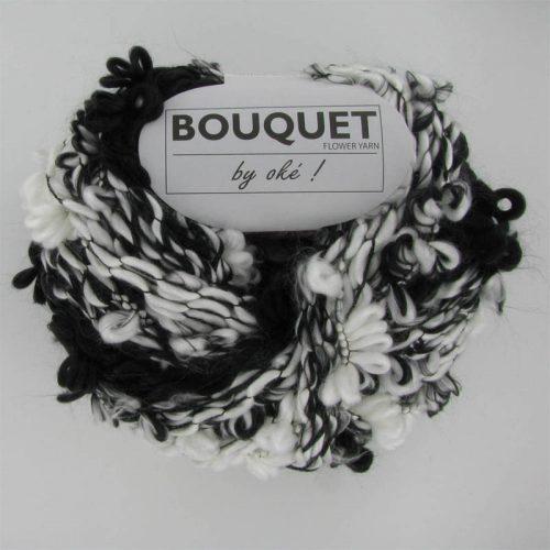 Bouquet 400 čiernobiely