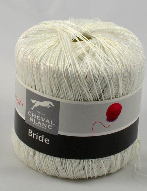 Bride 126 biela lurex