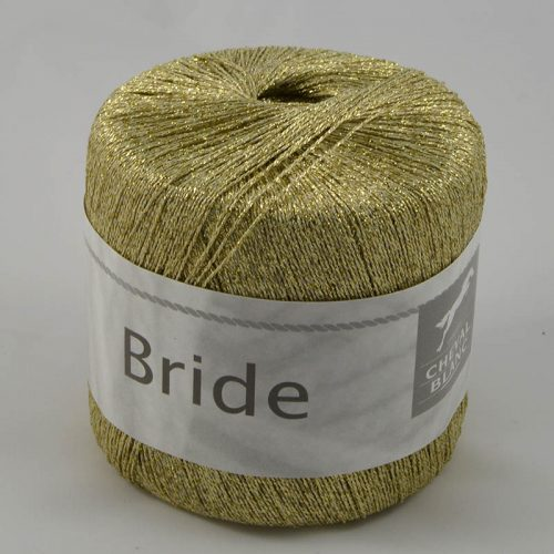 Bride 127 zlatá lurex