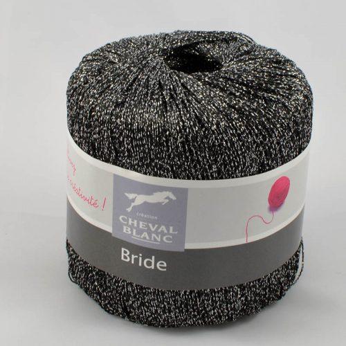 Bride 30 čierna lurex