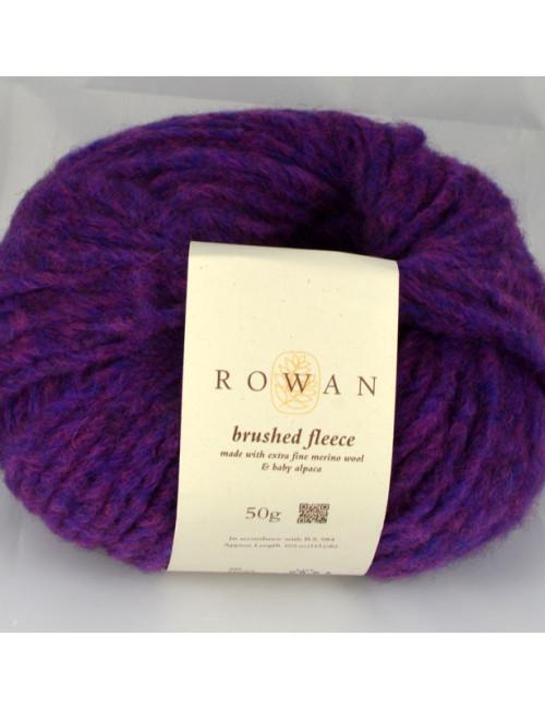 Brushed fleece 258 fialová