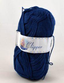 Clipper stredný modrý