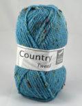 Country tweed 21 azúrová