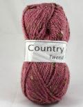Country tweed 252 staroružová