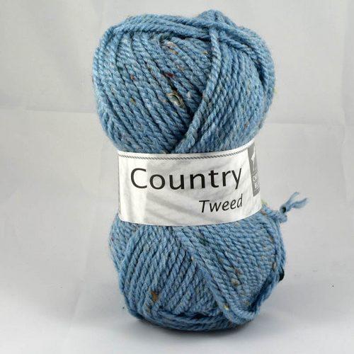 Country tweed 291 svetlá modrá