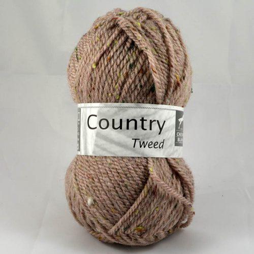 Country tweed 304 ružové drevo