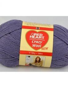 Crazy wool 7 svetlá fialová