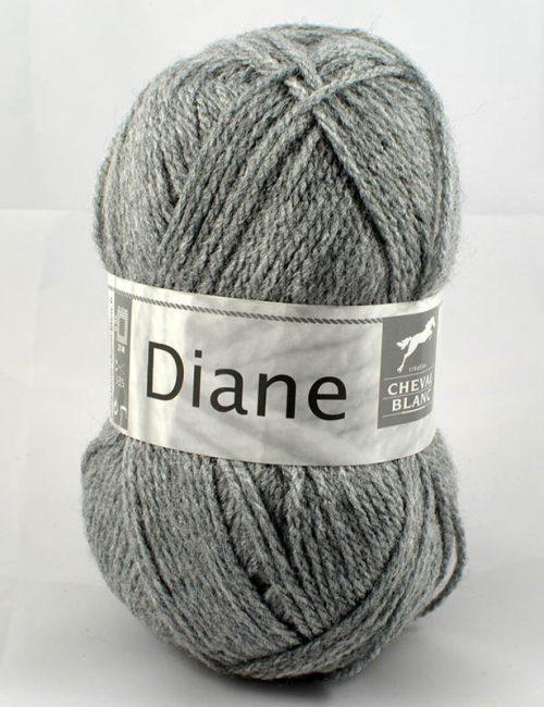 Diane 58 Flanelová sivá