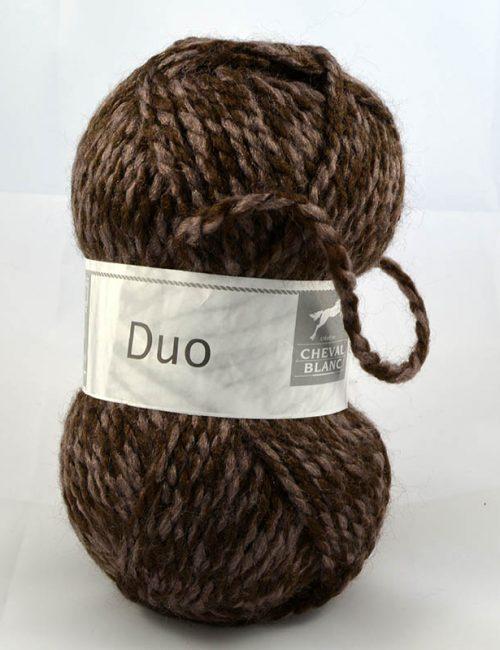Duo 319 Tmavá hnedá/svetlá hnedá