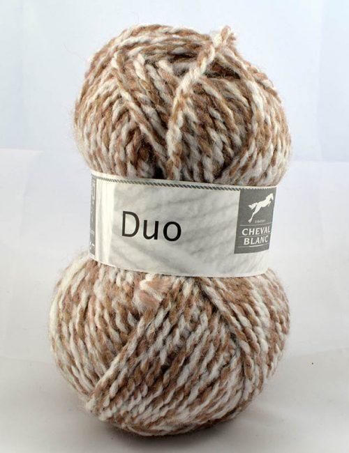 Duo 357 Ružové drevo/prírodná biela