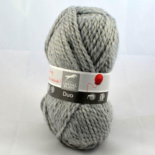 Duo 58 Flanelová sivá