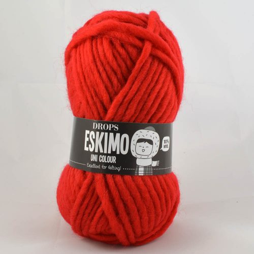 Eskimo 56 jahodová červená
