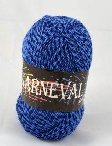 Karneval ponožkový tmavomodrá+stredná modrá