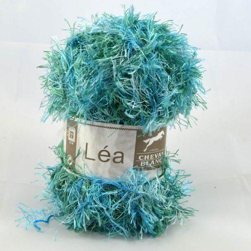 Lea 209 tyrkysovo-zelený melír