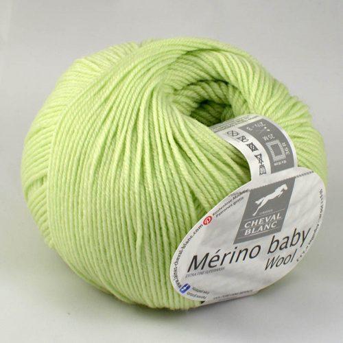 Merino baby 107 Svetlá zelená