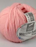 Merino baby 48 Bledoružová