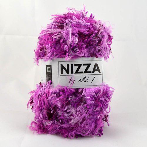 Nizza 401 fialovo ružová