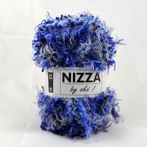 Nizza 407 sivá/modrá