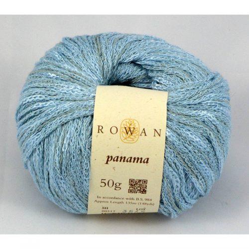 Panama 317 ľadová modrá