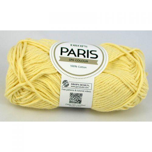 Paris 19 svetlá žltá