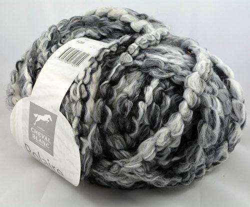 Polaire 125 biela/čierna/antracit