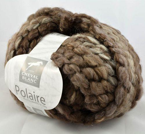 Polaire 42 Hnedý melír