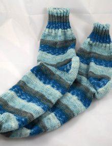 Ponozky Balade samovzor modre