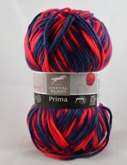 Prima 401 modrá/svietivá červená