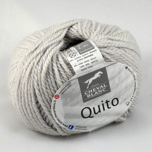Quito 71 perlová sivá
