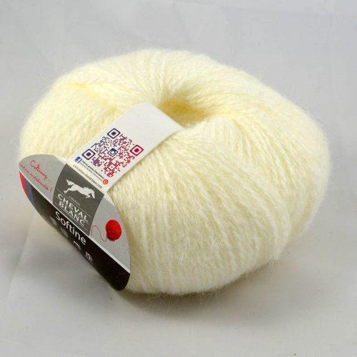 Softine 16 prírodná biela