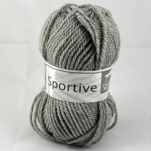 Sportive 58 flanelová sivá