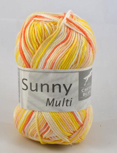 Sunny multi 471 žltá/krémová/oranžová