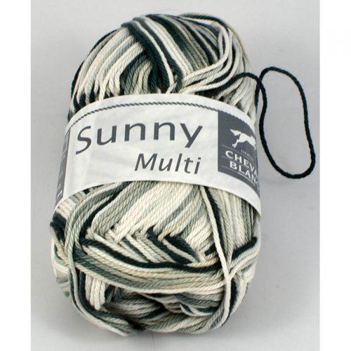 Sunny multi 405 antracit/svetlá sivá/prírodná biela