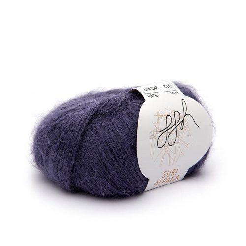 Suri alpaka 12 purpurová