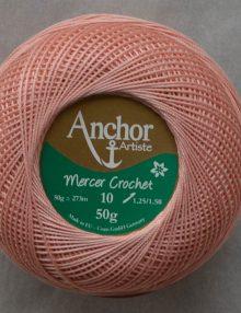 Anchor Mercer Crochet 10 púdrová 893