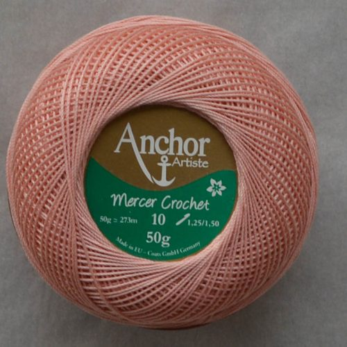 Anchor Mercer Crochet 10 púdrová 893