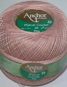 Anchor Mercer Crochet 20 - všetky odtiene