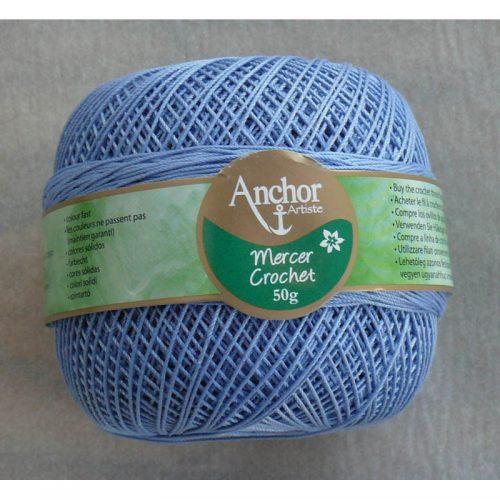 Anchor Mercer Crochet 10 sivomodrá 121