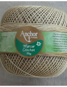 Anchor Mercer Crochet 5 konope 831