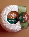 Anchor Mercer Crochet 10 - všetky odtiene