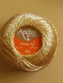 Anchor Metallic Fine - všetky odtiene